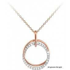 Double Circles Diamonds 0.17ct