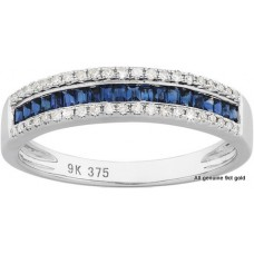 Eternity Sapphire Diamonds Ring