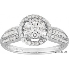 Halo Diamonds Graded Band
