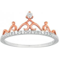 Diamond Crown Princess Ring
