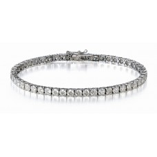 Tennis Bracelet Diamonds 0.87ct