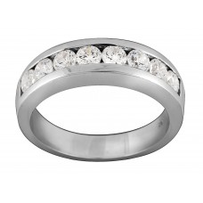 Channel Diamonds Eternity Ring