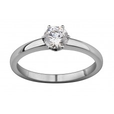 Claw Set Diamond Solitaire Ring