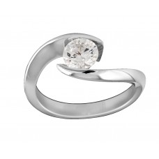Cushioned Diamond Solitaire
