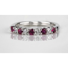 Diamond And Ruby Eternity
