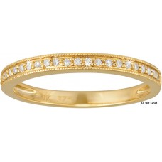 Fine Diamonds Half Eternity Ring Y/G