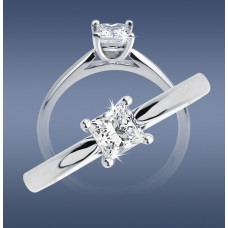 Square Diamond Classic Solitaire